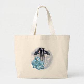 DarkAngel3 Jumbo Tote Bag
