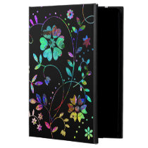 'DarkBloom' iPad Air Cover