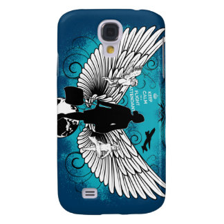 Darkblue Kciafa Galaxy S4 Case
