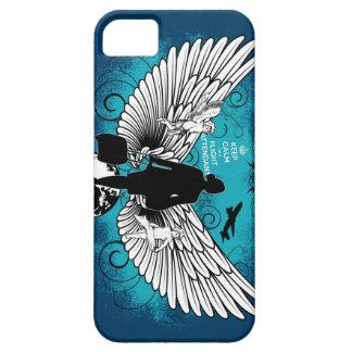 Darkblue Kciafa iPhone SE/5/5s Case