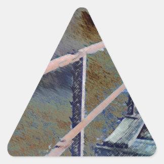 Darken Bridge.jpg Triangle Sticker