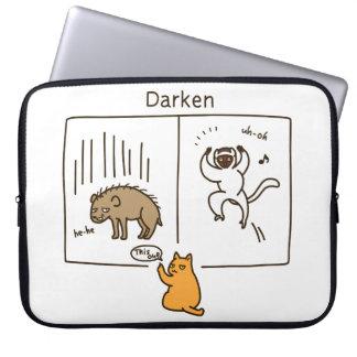 Darken (color) computer sleeve