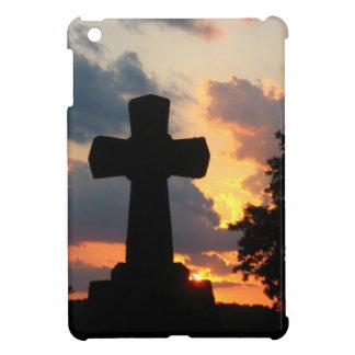 Darken Cross At Sunset iPad Mini Cover