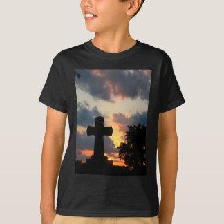Darken Cross At Sunset T-Shirt