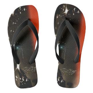 Darkened Light Flipflops by Adrena Flip Flops