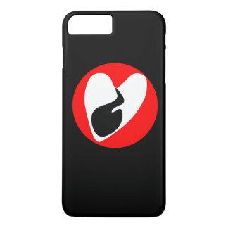 Darkening Heart iPhone 7 Plus Case
