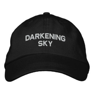 Darkening Sky Official Crew Embroidered Baseball Hat