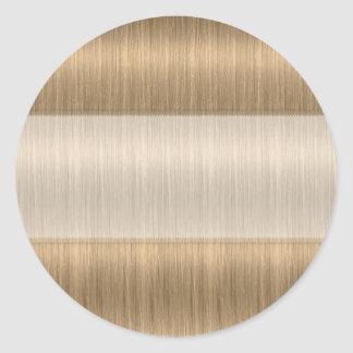 Darker Blonde Hair Salon Stylist Blank Stickers