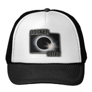 DARKER DUBZ black an White Dubstep Dub Trucker Hat