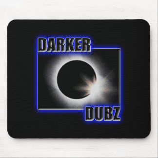 DARKER DUBZ blue Dub Dubstep Mouse Pad