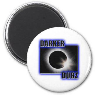DARKER DUBZ blue Dubstep Dub Magnet