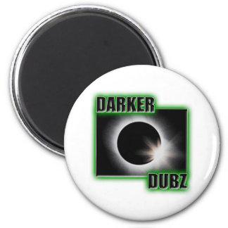 DARKER DUBZ green Dub Dubstep Reggae Magnet