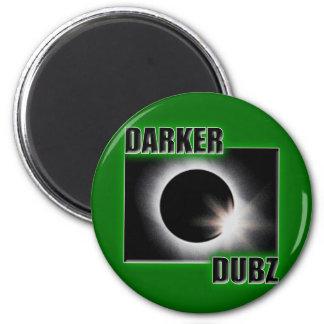 DARKER DUBZ green Dubstep Dub Magnet