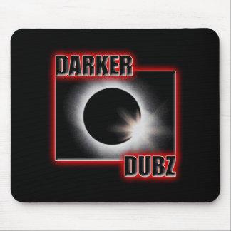 DARKER DUBZ red Dub Dubstep Reggae Mouse Pad