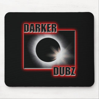 DARKER DUBZ red Dubstep Dub Mouse Pad