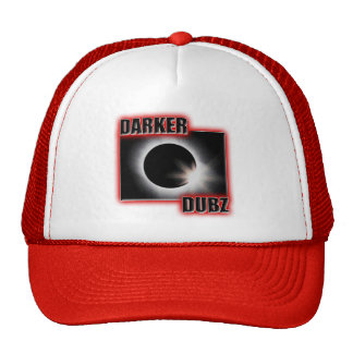 DARKER DUBZ red Dubstep Dub Trucker Hat