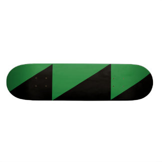 Darker Green And Black, Colombia Political Skate Board Deck