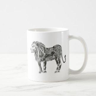 Darker lion coffee mug