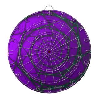 Darker Purple Wire Spiral  Dartboard