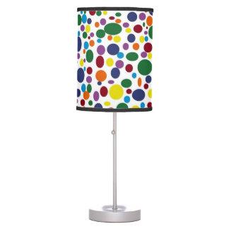 Darker Rainbow Bubbles Lamp