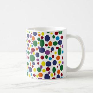 Darker Rainbow Bubbles Mug
