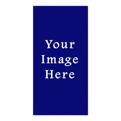 Darkest Blue Hanukkah Chanukah Hanukah Template Customized Photo Card