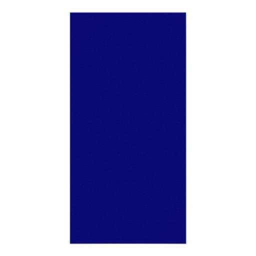 Darkest Blue Hanukkah Chanukah Hanukah Template Custom Photo Card