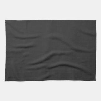 Darkest Charcoal Gray Fashion Grey Color Trend Kitchen Towel