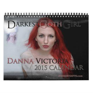 DarkestGoth Girl Danna Victoria 2015 Calendar