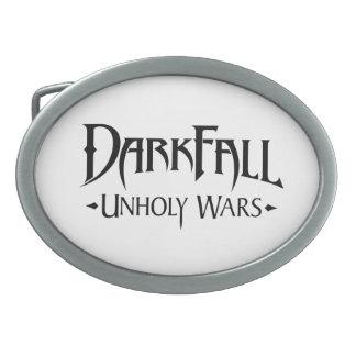 Darkfall Unholy Wars Belt Buckle Oval