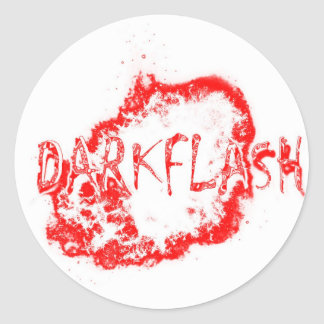 DARKFLASH_official products Classic Round Sticker