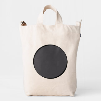 DarkGrey Dot Duck Bag