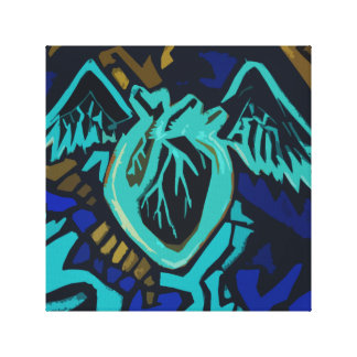 Darkling Heart Beat Canvas Print