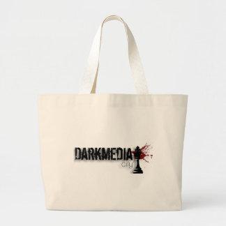 DarkMediaCity Jumbo Tote Bag