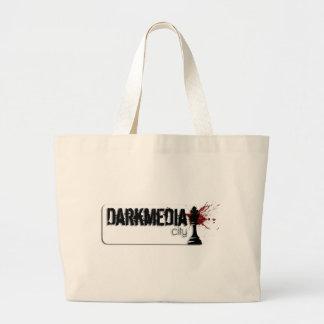 DarkMediaCity Logo Jumbo Tote Bag