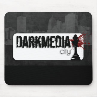 DarkMediaCity Logo Mouse Pad