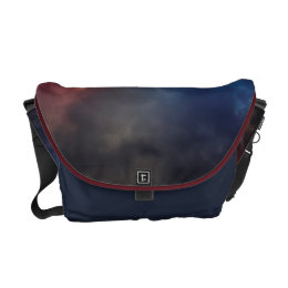 Darkness and Fire Messenger Bag
