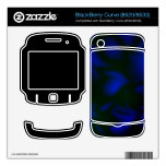 Darkness BlackBerry Curve Decal