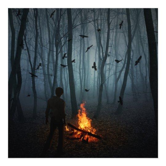 Darkness Falls Photo Print