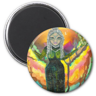 Darkness Into Light 2 Inch Round Magnet