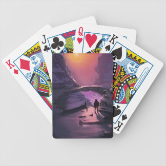 Darkness Is Just The Absence Of Light Bicycle Playing Cards