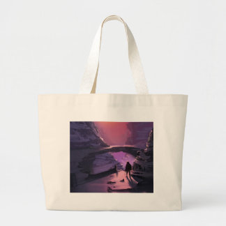Darkness Is Just The Absence Of Light Large Tote Bag