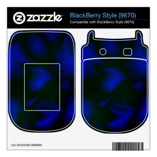 Darkness BlackBerry Style Decals