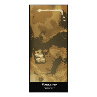 """Darkness"" Value Bookmark Rack Card"