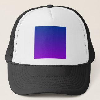 DarkPowder Blue to Dark Violet Horizontal Gradient Trucker Hat