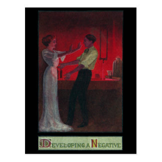 Darkroom Romance Hits Snag Postcard