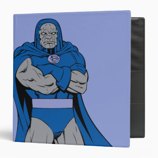 Darkseid Arms Crossed 3 Ring Binder