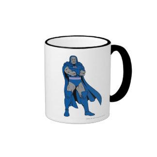 Darkseid Arms Crossed Ringer Coffee Mug