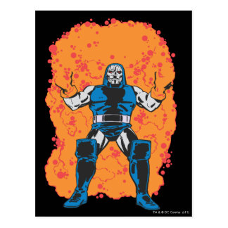 Darkseid Destruction Postcard