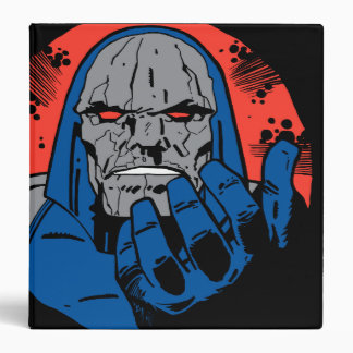 Darkseid  Head Shot 2 3 Ring Binder